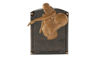 "SALE! Female Legends of Fame Soccer Sculpture: 6"" x 8"""