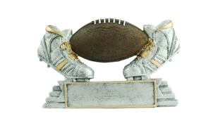 SALE! Football Sculpture: 3-1/4""