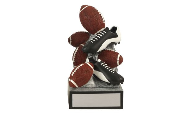 SALE! Football Tower Sculpture: 6""