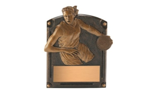 SALE! Female Basketball Sculpture: 4-3/4""