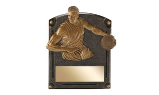 SALE! Male Basketball Sculpture: 4-3/4""