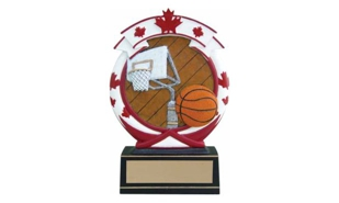 SALE! Canada Basketball Sculpture: 5-1/2""
