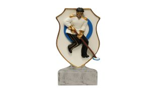 Female Ringette Shield Sculpture: 6""
