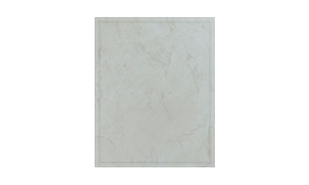 "White Marble Laminate Plaque: 10-1/2"" x 13"""