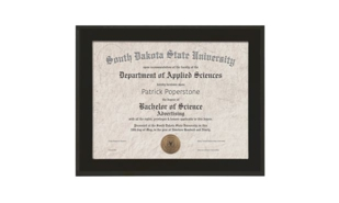 "Matte Black Finish Slide-In Plaque with Certificate Window: 13"" x 10-1/2"""