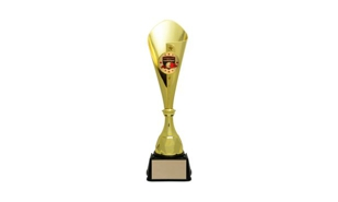 Gold Bruno Cup Trophy: 17-5/8""