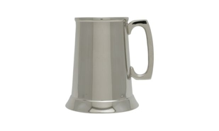 Nickel Plated Classic Tankard: 10 oz.