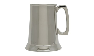 Nickel Plated Classic Tankard: 15 oz.