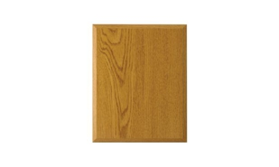 "Oak Laminate Plaque: 5"" x 7"""