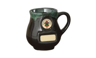 Ceramic Greenstone Coffee Mug: 10 oz.