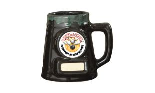 Pint Ceramic Greenstone Beer Mug: 1-1/2 Pint