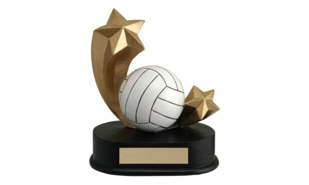SALE! Volleyball Shooting Star Sculpture: 5""