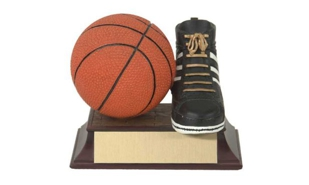 SALE! Basketball Sculpture: 3-1/2""
