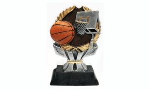 Basketball Sculpture:5-1/2""