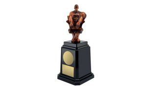 Fantasy Basketballl Tower Annual Trophy: 11-1/4""
