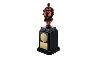 Fantasy Baseballl Tower Annual Trophy: 11-1/4""