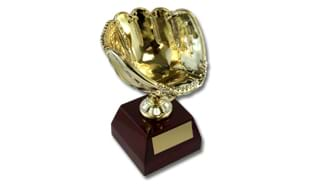 Golden Glove Keeper Trophy: 8""