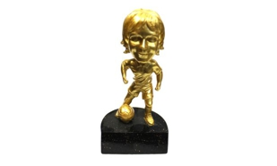 Female Soccer Bobblehead Sculpture: 5-3/4""