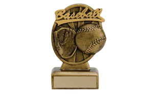 Baseball Signature Sculpture: 5-1/8""