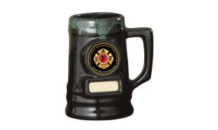 Ceramic Greenstone Beer Mug: 2 Pint