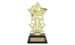 "7"" Volleyball Trinity Series Trophy"