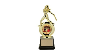 "First Choice Female Softball Trophy with 2"" Insert Holder: 8-1/4"""