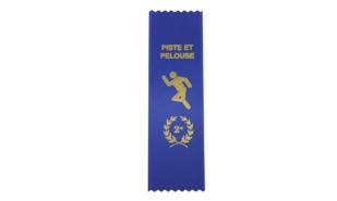 French 2e Place Track & Field Ribbon
