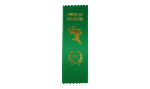 French 5e Place Track & Field Ribbon