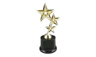 Tri-Star Trophy Award