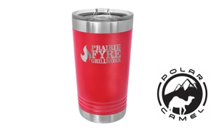Polar Camel Pint Tumbler - Red: 16 oz.