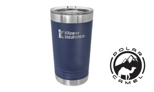 Polar Camel Pint Tumbler - Navy Blue: 16 oz.