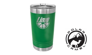 Polar Camel Pint Tumbler - Green: 16 oz.