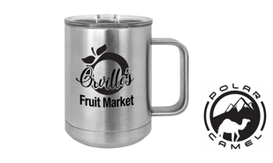 Polar Camel Mug - Stainless Steel: 15 oz.