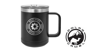 Polar Camel Mug - Black: 15 oz.