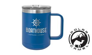 Polar Camel Mug - Royal Blue: 15 oz.