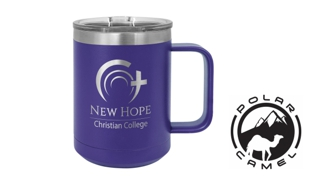 Polar Camel Mug - Purple: 15 oz.