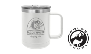 Polar Camel Mug - White: 15 oz.