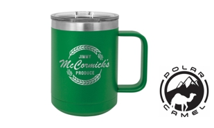 Polar Camel Mug - Green: 15 oz.