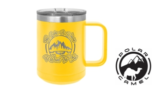 Polar Camel Mug - Yellow: 15 oz.