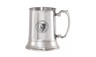 Double Wall Stainless Steel Tankard: 16 oz.