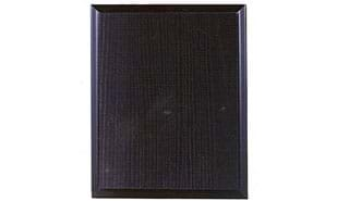 "Black Ash Laminate Plaque: 9"" x 12"""