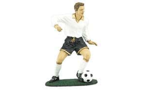 Male Action Soccer Sculpture: 7""