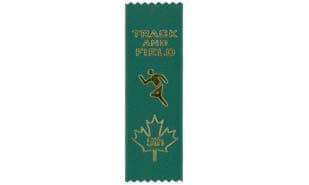 Stock Track & Field Fifth Place Ribbon