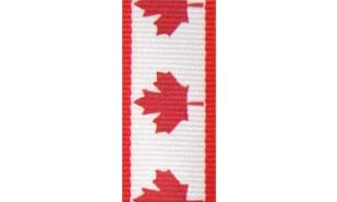 Canadian Maple Leaf Neck Ribbon