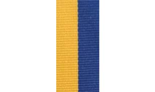 Blue & Gold Neck Ribbon