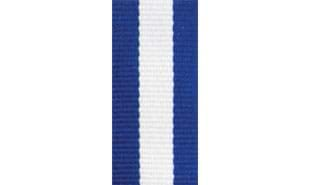 Blue, White & Blue Neck Ribbon