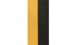 Black & Gold Neck Ribbon
