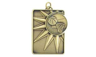 Basketball Spinner Dog Tag