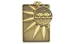 Swimming Spinner Dog Tag